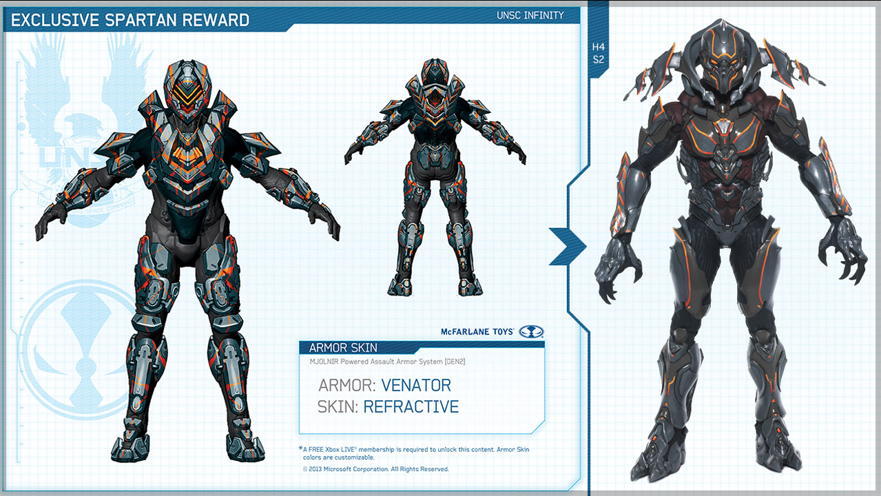 Halo 4 weapons and armor skins!!! | HaloFanForLife