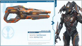 Halo 4 New Weapon Skins and Armor Skins