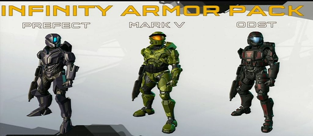 Halo 4 Prefect Armor Chief Canuck Video Game News