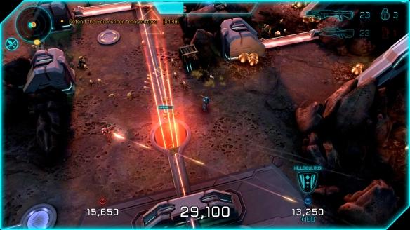 Halo Spartan Assault Xbox One Co-op Screenshot 04