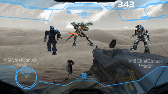 Halo-Fake-Hud-Example