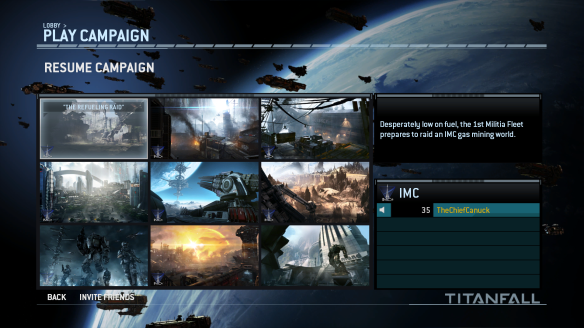 titanfall campaign