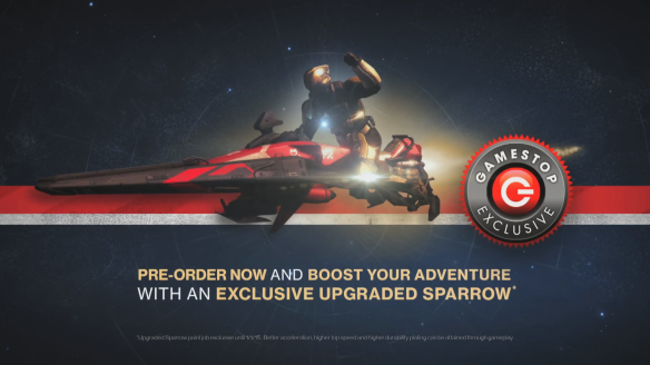 Destiny Red Sparrow Pre-Order Bonus