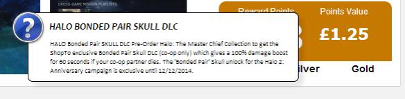 Halo Bonded Pair Skull