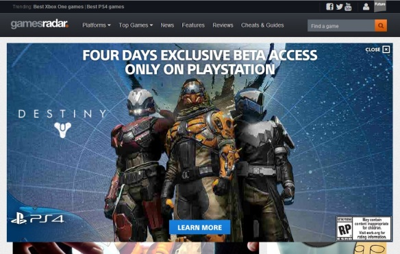 Destiny Beta 4 Day Exclusive Access