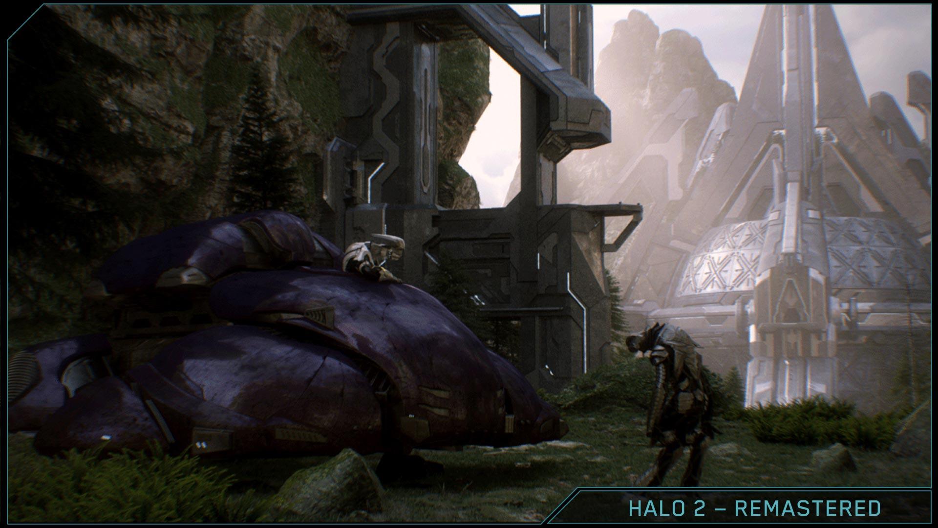 Halo 2 anniversary graphic comparison anniversary vs original