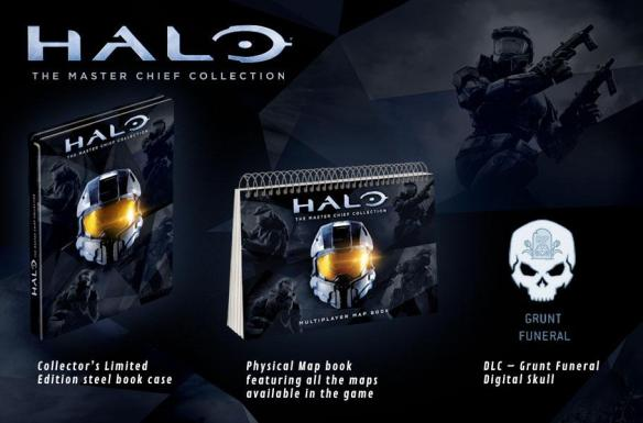 Game UK LE Halo MCC