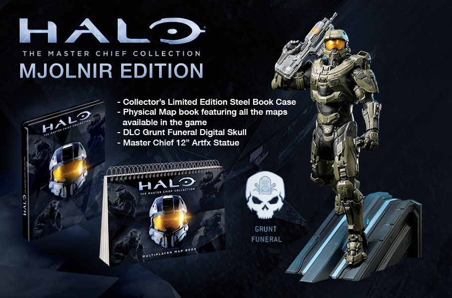 Halo The Master Chief Collection Pre Order Bonuses