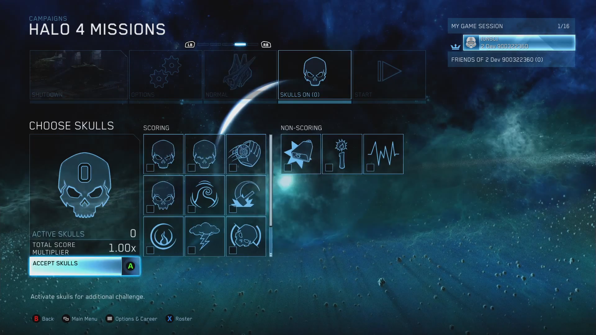 Halo The Master Chief Collection Skulls List Chief Canuck Video