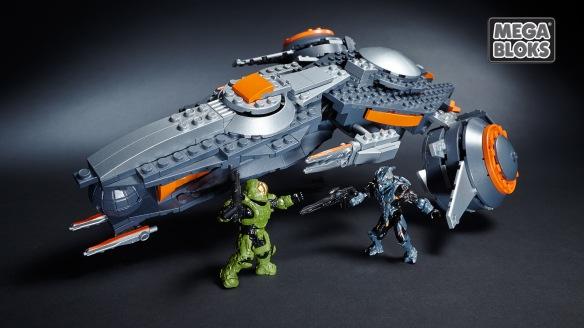 Halo 5 Mega Bloks Promethean Phaeton Gunship
