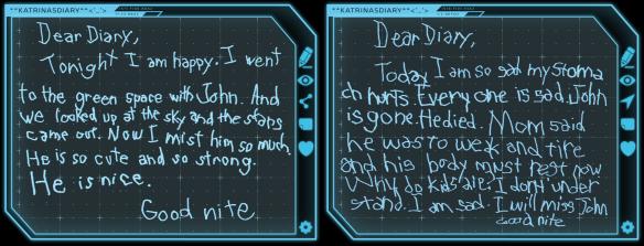 Katrinas-Diary-Week3
