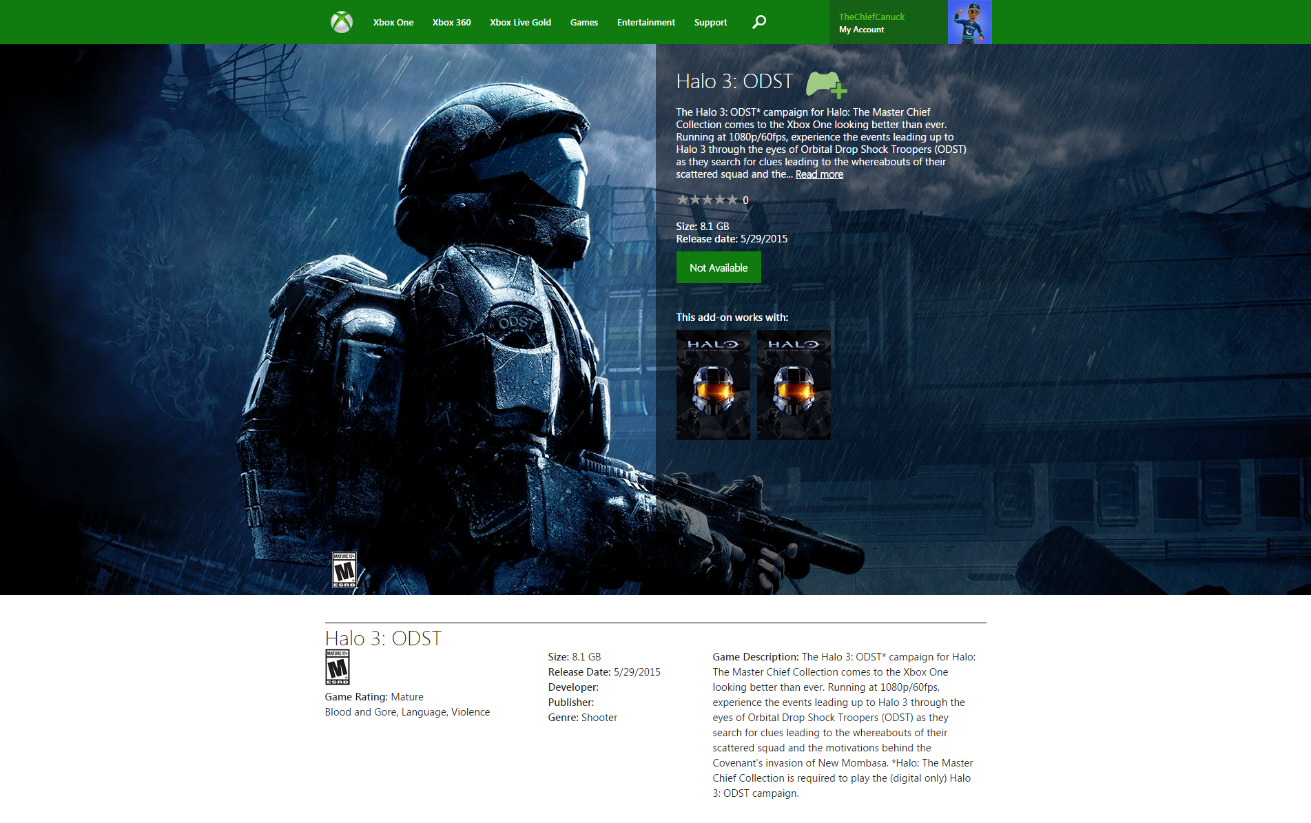 Halo 3 odst release date halo the master chief collection halo 3 odst publicscrutiny Image collections
