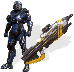 Best Buy Halo 5 Pre order bonus update render Athlon Iccus Armor.