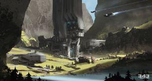 Halo 5: Guardians Raid oo Apex 7 Concept Art