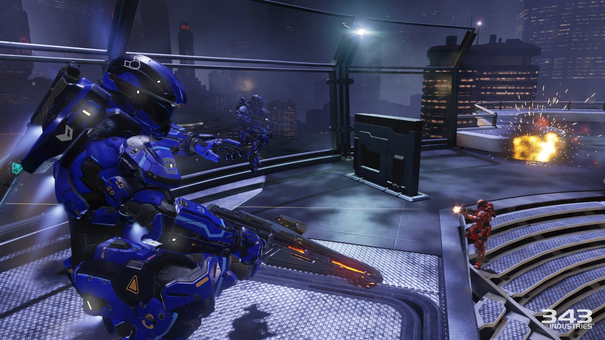 Halo 5 Multiplayer Gameplay Breakdown – Incineration Cannon
