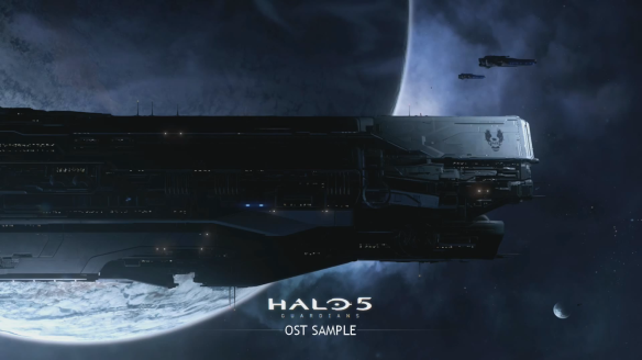 Halo 5 New Soundtrack beta menu