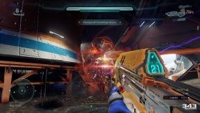 Halo 5 Guardians Warzone Firefight Boss Battle