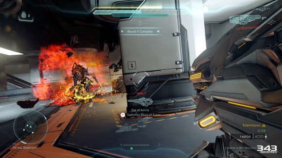 Halo 5 Guardians Warzone Firefight Incinerated