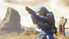 Halo 5 Guardians Warzone Assault Temple Gunfighter