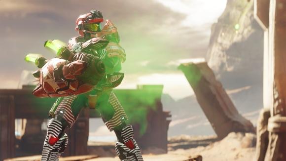 Halo 5 Guardians Warzone Assault Temple Hunter